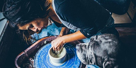 6 - Week Pottery Wheel-Throwing + Basic Hand-Building Class tickets