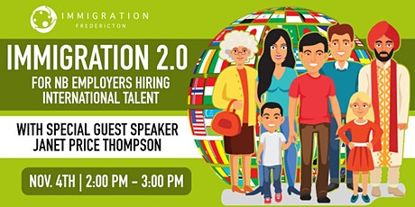 Immigration guidelines for NB Employers Hiring International Talent tickets