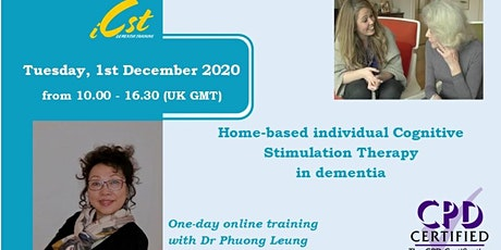 Home-based Individual Cognitive Stimulation Therapy (iCST) in Dementia tickets