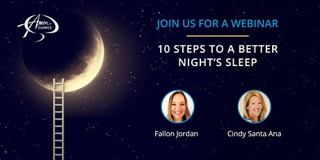 10 Steps to a Better Night's Sleep tickets