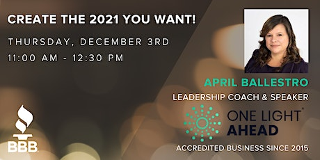 Create the 2021 you want! tickets