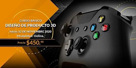 Curso Diseño de Producto 3D  ¡Nueva Fecha! entradas