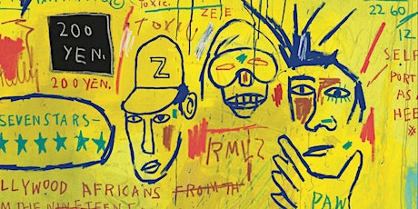 Writing the Future: Basquiat and the  Hip-Hop Generation tickets