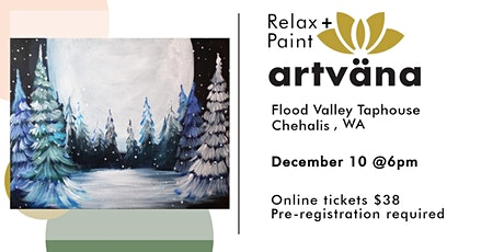 CANCELED Seasonal paint and sip night at Flood Valley Taphouse tickets