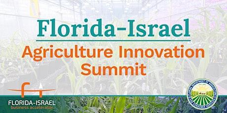Florida-Israel Agriculture Innovation Summit tickets