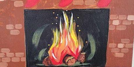 Winter Wednesday Paint Night- Cozy Fireplace tickets