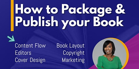 How to Package & Publish your Book tickets
