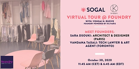 Impromptu Virtual Tour @ foundry (SoGal Paris) billets