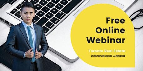 Free Informational Toronto Real Estate Webinar - Ringo Tsang Team tickets