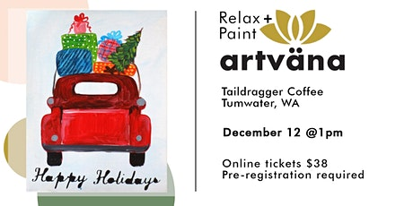 CANCELED Christmas coffee and canvas at Taildragger Coffee tickets