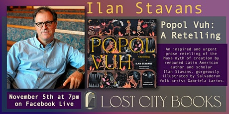 Popol Vuh: A Retelling by Ilan Stavans tickets