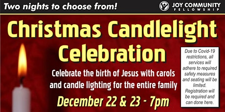 Christmas Candlelight Celebration tickets