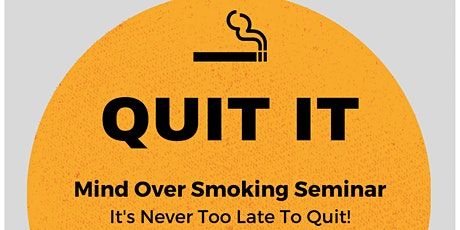 Quit Smoking - Introduction to Hypnotherapy to Stop Smoking tickets