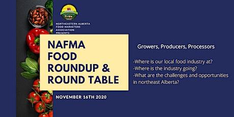 Northeast Alberta Food Roundup & Round Table tickets