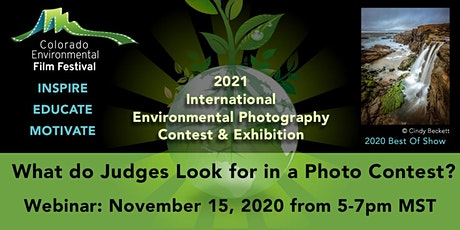 What Do Judges Look For In A Photo Contest? tickets