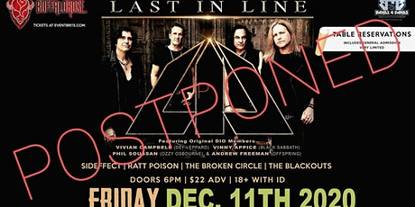 LAST IN LINE (Featuring Original Members of DIO) New date is here(12/11/20) tickets