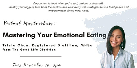 Mastering Your Emotional Eating tickets