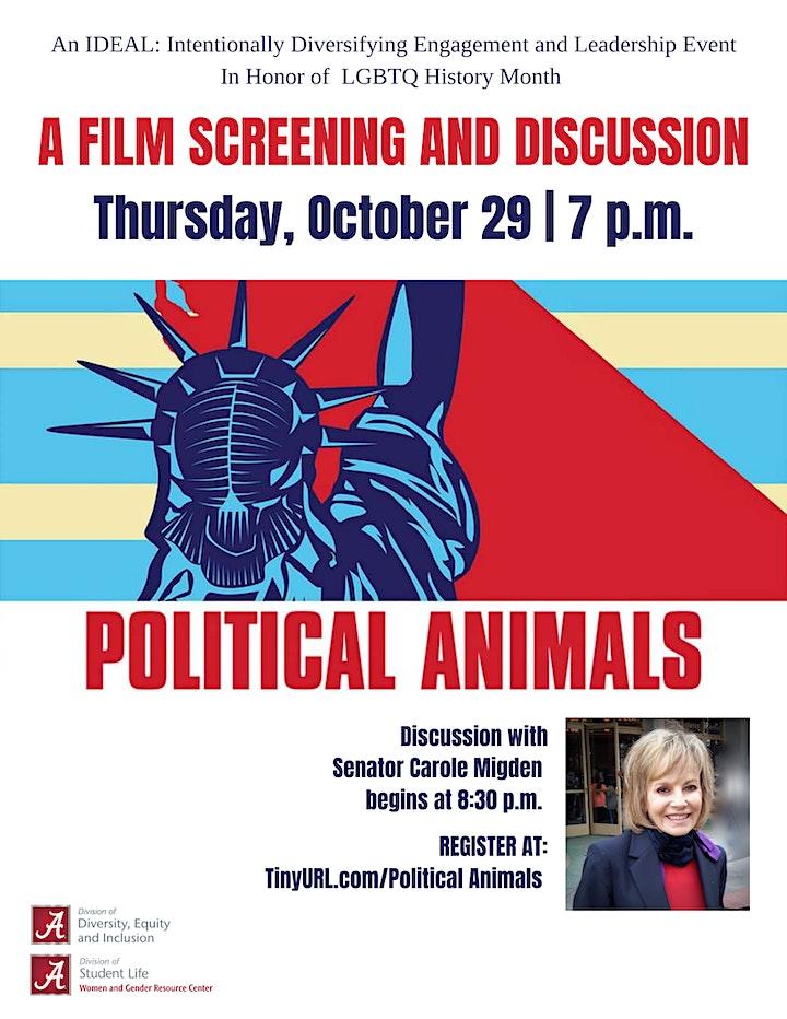 Political Animals Screening & Discussion image