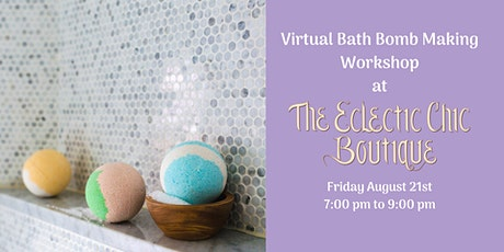 Virtual Holiday Bath Bomb Making Workshop