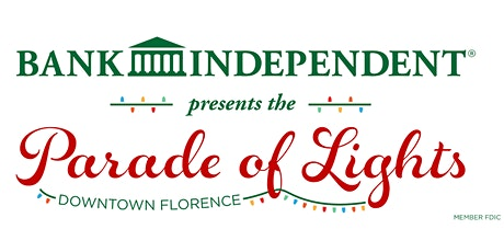 2020 Reverse Christmas Parade presented by Bank Independent in Florence, AL tickets