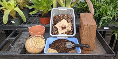 DIY Sustainable Seed Starting and Potting Mixes tickets