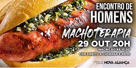 Encontro Macho Terapia - 29/10/2020 ingressos