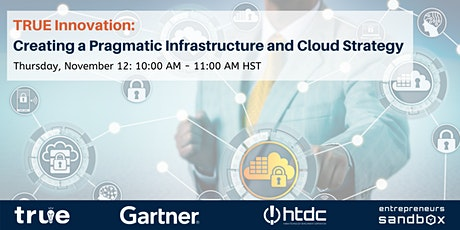 Creating a Pragmatic Infrastructure and Cloud Strategy tickets