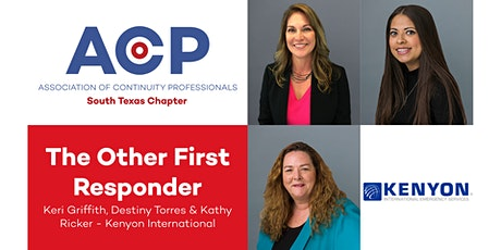 The Other First Responder by Kenyon International tickets