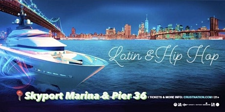 Latin & Hip Hop NYC Boat Party Yacht Cruise-Friday December 4th tickets