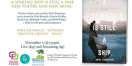 Wordplay at Timucua: A Sinking Ship is Still a Ship (In person) tickets