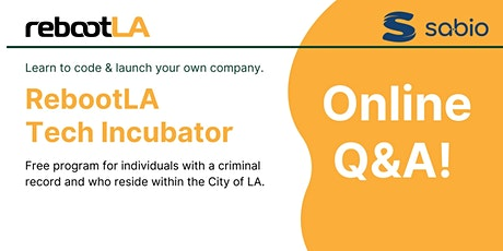 RebootLA: Question & Answer tickets