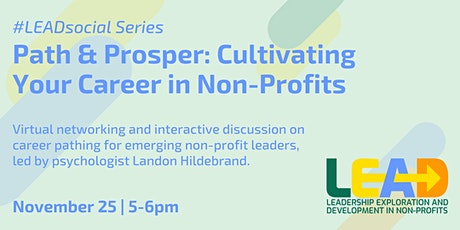 Path & Prosper: Cultivating Your Career in Non-Profits tickets