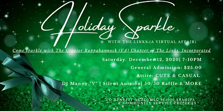 VIRTUAL HOLIDAY SPARKLE WITH THE GRVA CHAPTER OF THE LINKS, INCORPORATED tickets