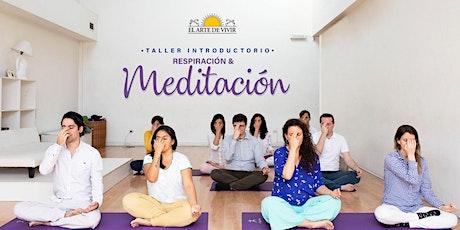 Taller Meditación & Respiración Online - Introducción al Curso Yes!+Plus. tickets