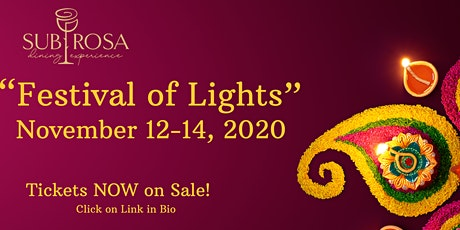 The Festival of Lights tickets