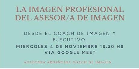 Imagen Profesional de  Asesor/a de Imagen- boletos