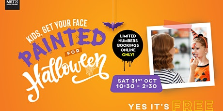 Halloween Face Painting at MKT Deception Bay! tickets
