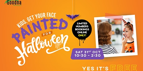 Halloween Face Painting at Goodna Marketplace! tickets