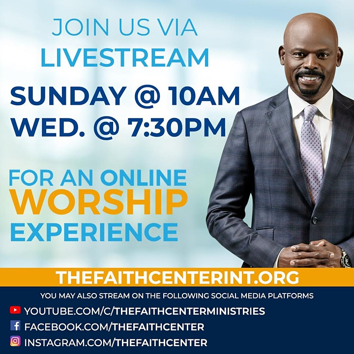 The Faith Center Church Online image