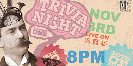 Trivia Night (for playing in person) tickets