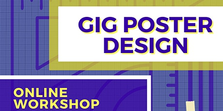 Gig Poster Design Workshop tickets