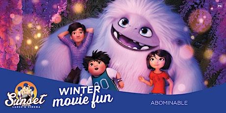 Sunset Cinema: Abominable (FREE) tickets