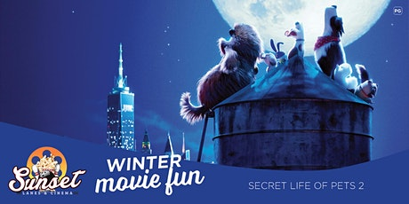 Sunset Cinema: The Secret Life of Pets 2 (FREE) tickets