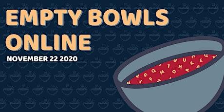 Empty Bowls Online 2020 tickets