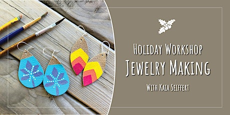 Holiday Workshop: Leather Jewelry Making tickets