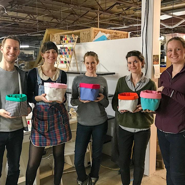 Fabric Basket Workshop image