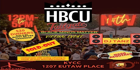 Virtual HBCU Tailgate Party tickets