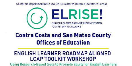 English Learner Roadmap Aligned LCAP Toolkit Workshop tickets