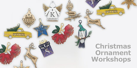 Christmas Ornament Workshops tickets