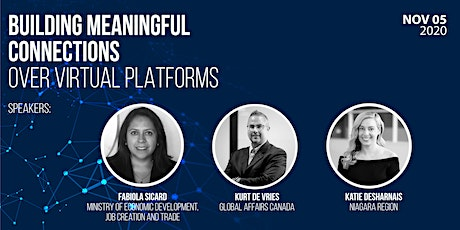 Building Meaningful Connections over Virtual Platforms tickets